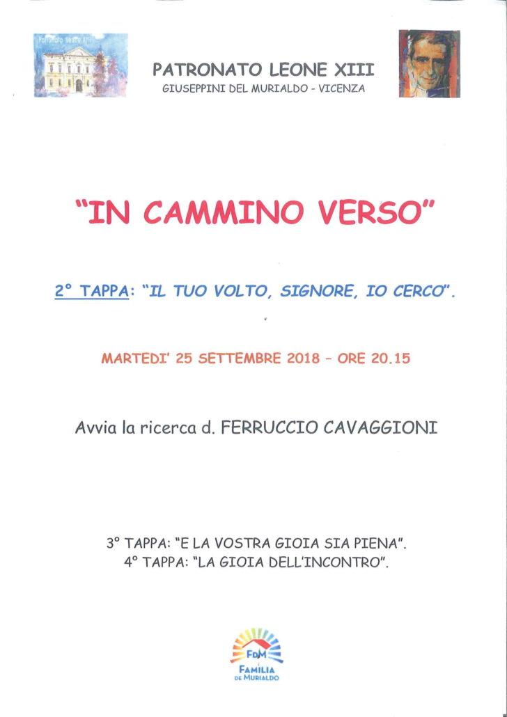 IN CAMMINO VERSO TAPPA 2-1